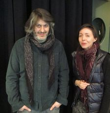 Christophe Honoré with Anne-Katrin Titze: