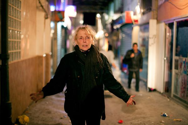 Claire Denis, seen here during the shoot of Bastards in 2013, is a director who always breaks taboos