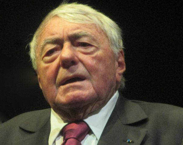 Claude Lanzmann pictured at the New York Film Festival