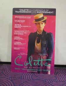 Colette US poster at the Angelika Film Center in New York