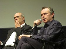 The Present and Brooklyn director John Crowley with novelist Colm Tóibín