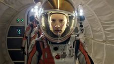 "Jessica Chastain on her Commander's spacesuit: ""It felt like I was wearing a movie studio."""