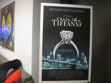 Crazy About Tiffany's US poster - The premiere is at The Museum of Natural History