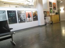 Criterion offices with original Mulholland Dr. poster