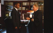 Cuba Gooding Jr. as Fred Gray with Martin Sheen as Judge Frank Johnson