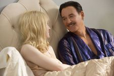 "Beverly Aadland (Dakota Fanning) Errol Flynn (Kevin Kline): ""I think what we tried to show in the seduction was two people experiencing the same act completely differently."""