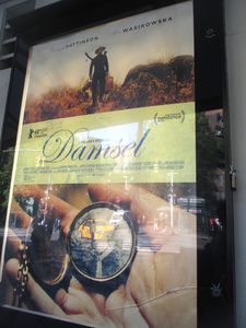 Damsel poster at the IFC Center in New York