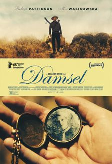 Damsel poster - opens in the US on June 22