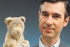 Daniel Striped Tiger with Fred Rogers