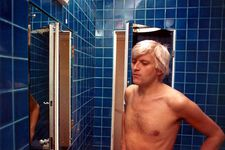 "Jack Hazan on the David Hockney shower scene: ""This is an antidote to Psycho."""