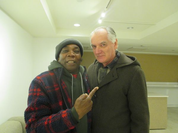 Music legends Dennis Bovell and Ed Bahlman unite before the preview of Franco Rosso's powerful Babylon with Brinsley Forde at BAMcinématek