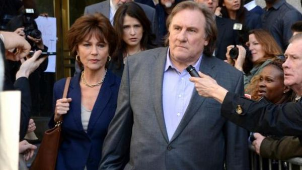 Jacqueline Bisset and Gérard Depardieu in Abel Ferrara's Welcome To New York.
