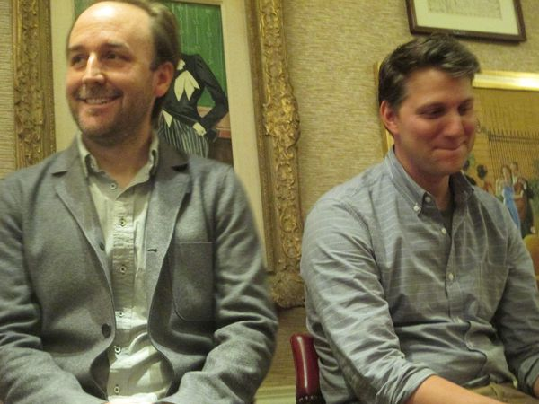 Derek Cianfrance and Jeff Nichols share more than a laugh