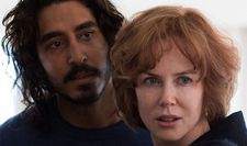 "Saroo (Dev Patel) and Sue Brierley (Kidman): ""I had to wait for Saroo to be born."""