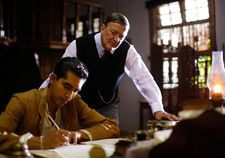 S Ramanujan with Sir Francis Spring (Stephen Fry)