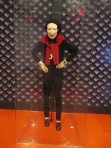 Greer Lankton's sculpture of Diana Vreeland at the Museum of Art and Design