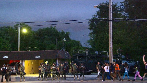 Ferguson, Missouri, August 20, 2014 Do Not Resist