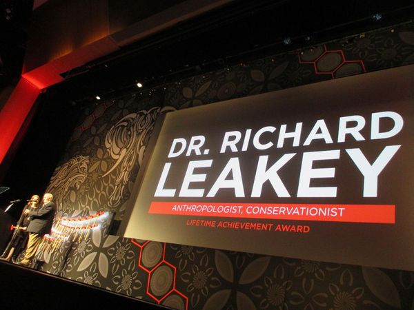 Dr Richard Leakey, Chair of the Kenya Wildlife Service and Turkana Basin Institute