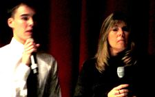 "Evan H. with his mother Anita H.: ""I didn't think anybody would ever make a film like this…"""