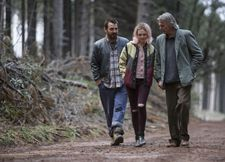 Oliver (Ewen Leslie) and Hedvig (Odessa Young) with her grandfather Walter (Sam Neill)