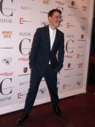 Fabien Constant on the red carpet - photo by Anne-Katrin Titze