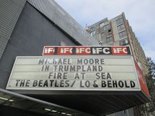 Fire At Sea (Fuocoammare) and Michael Moore in TrumpLand at the IFC Center