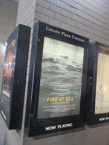 Fire At Sea poster - Lincoln Plaza Cinemas in New York