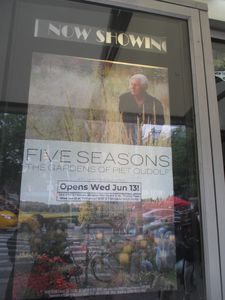 ‪Five Seasons: The Gardens Of Piet Oudolf‬ poster at the IFC Center