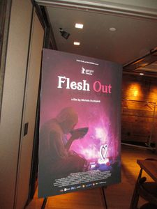 Flesh Out US poster at the Park South Hotel in New York