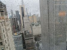 View from the 38th floor at the Four Seasons in New York