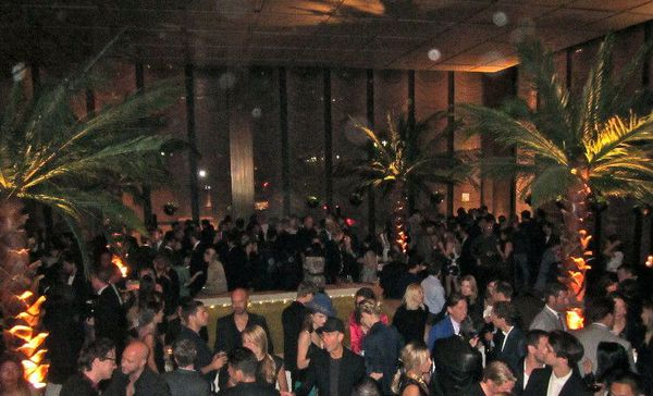 Mademoiselle C World Premiere after party at the Four Seasons