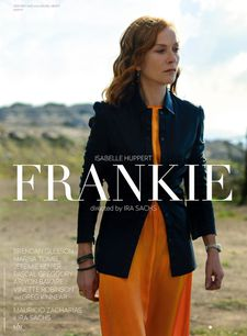 Poster for Ira Sachs' Frankie with Isabelle Huppert…could be lining up for a Cannes berth.