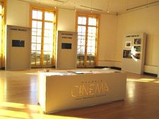 "Galerie Cinéma facing Central Park in New York: ""This exhibition here in New York is a group show of all the artists I have exhibited in Paris from 2013 until next week when I will have Raymond Depardon in Paris."""