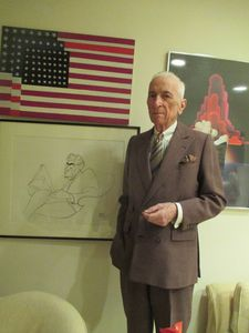 "Gay Talese under a halo on the voyeur: ""He's exposing a kind of tawdry reality. I thought it was rich in its contribution to the underside of history."""