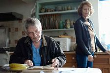 Geoff (Tom Courtenay) with Kate (Charlotte Rampling)