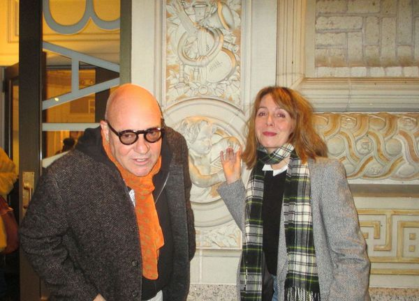 Gianfranco Rosi with Anne-Katrin Titze on Boatman at the Brooklyn Academy of Music: