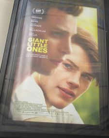 Giant Little Ones poster in New York