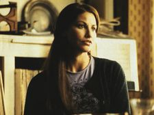 Gina Gershon as Hannah, mother of Sonia (Sophie Auster) in Lulu On The Bridge