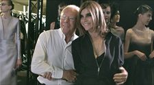 Giorgio Armani shows his support for Carine Roitfeld