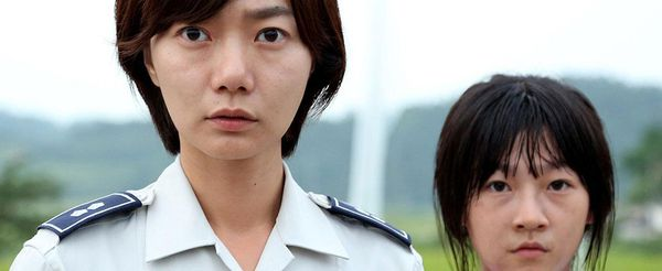 Doona Bae with Sae-ron Kim in A Girl At My Door