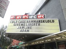 Give Me Liberty on the IFC Center marquee
