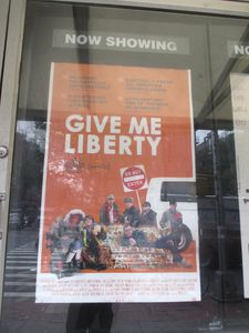 Give Me Liberty poster at the IFC Center in New York
