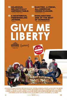 Give Me Liberty poster - opened in the US on August 23