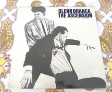 Glenn Branca The Ascension (99 Records - 99-001LP) produced by Ed Bahlman LP album cover designed by Robert Longo