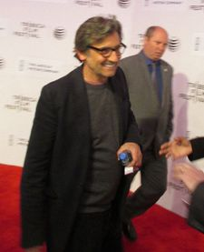 Griffin Dunne - a flash on the Third Person premiere red carpet