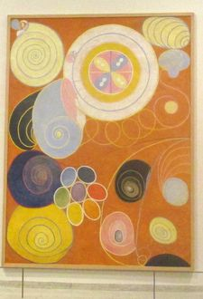 Group IV, The Ten Largest, No. 3, Youth - Hilma af Klint: Paintings for the Future at the Guggenheim Museum in New York