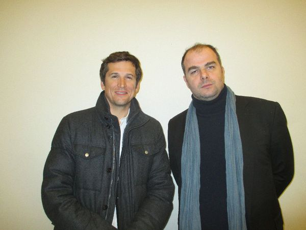 Guillaume Canet with Next Time I'll Aim For The Heart (La Prochaine fois je viserai le coeur) director Cédric Anger