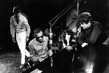 Hampton Fancher with Ray Charles and Michael Pfleghar