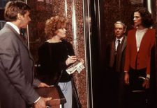 Harrison Ford, Melanie Griffith and Sigourney Weaver in Mike Nichols' Working Girl, costumes by Ann Roth