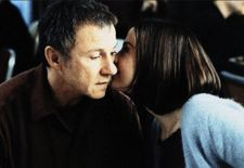 Izzy Maurer (Harvey Keitel) with Celia Burns (Mira Sorvino) in Lulu On The Bridge
